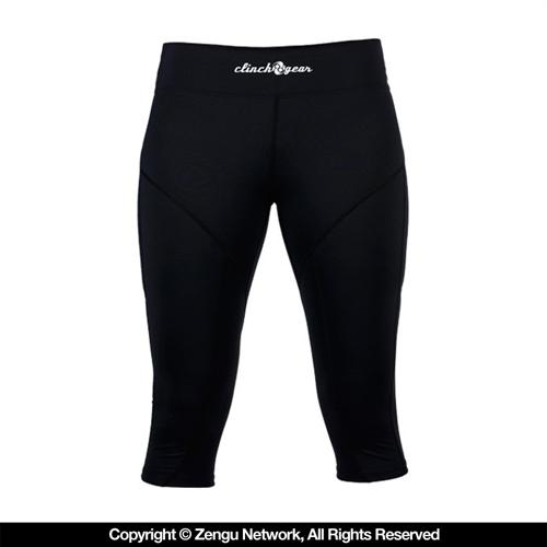 Clinch Gear Clinch Gear Women's Black Capri Spats